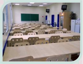 Salle de restauration étudiant