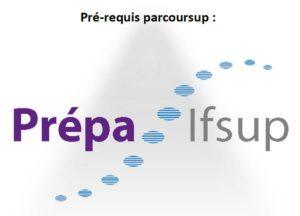 pré-requis parcoursup : prépa ifsup