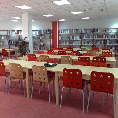 Bibliothèque du Campus Santé Porte de Paris